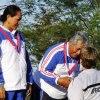 The Hon. Tuilaepa Lupesoliai Sailele Malielegaoi accepts silver