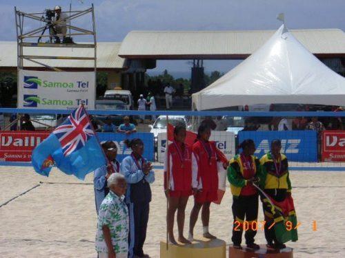Tahiti wins gold