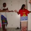 Dance practice for Kaitinano.