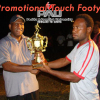TFPNG President Joe Yore presents awards