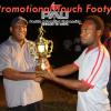 TFPNG President Joe Yore presents awards