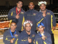 Nauru Boxing Team 2009 Mini Games