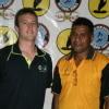 FIBA Oceania ZDO Ryan Burns with PNG NBDO Ronnie Mea
