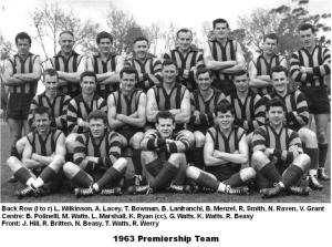 1063 Premiership Team