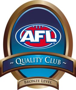 AFL Quality Club Program - Bronze Level