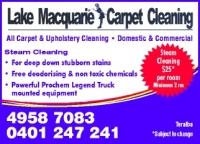 LM Carpet Cleaning - U12/1