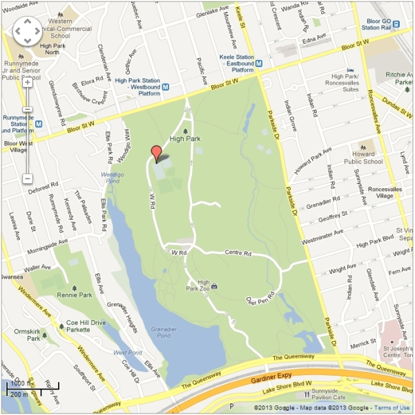 High Park Training Location