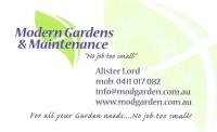 Modern Garden Maintenance