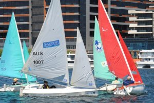 Short Course Racing at Docklands Yacht Club, February 2013