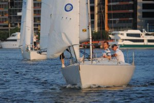 J-24 Short Course Racing at Docklands