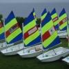Learn to Sail Opti fleet