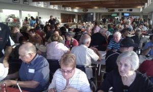Foreshore Dinner - More than 150 members attended