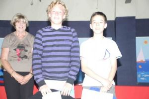 2nd Scratch Declan Reilly and James Lawira-Fernandez