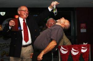 YC Spit the Dummy 2009-10 winner, Warren Myles