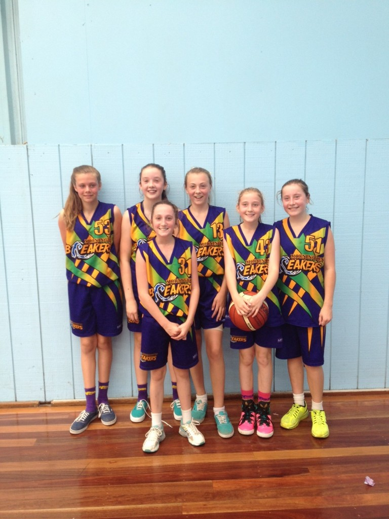 Mornington breakers basketball