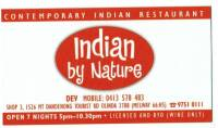 Indian by Nature
