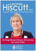 Leonie Hiscutt MLC