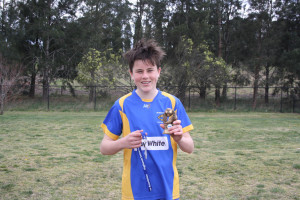 Bailey Cubit - U15s Player of the Match