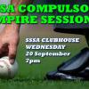 SSSA Compulsory Umpire Session