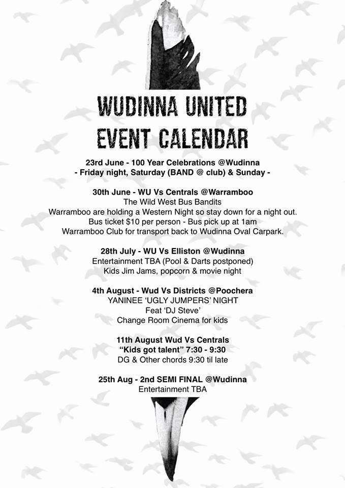 Wudinna United Kids Got Talent 11 August Mid West Football
